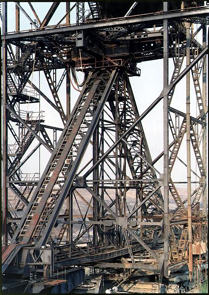 ZWENKAU, ABRAUMFÖRDERBRÜCKE AFB-18, Okt-2001