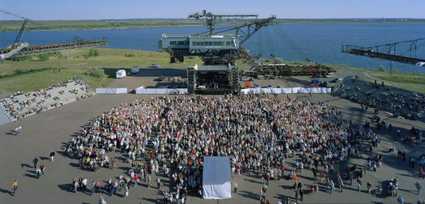 FERROPOLIS, Stadt aus Eisen, Chorfest, 16.09.2007