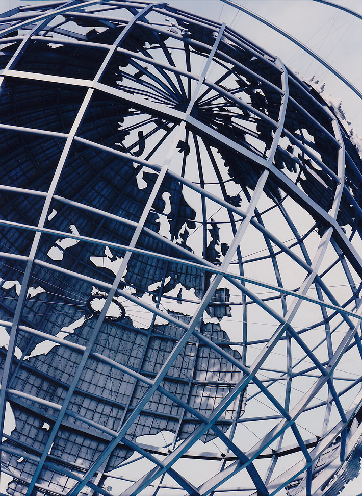 NEW YORK, UNISPHERE, FLUSHING MEADOWS CORONA PARK IN QUEENS, NEW YORK WORLD'S FAIR 1964-65