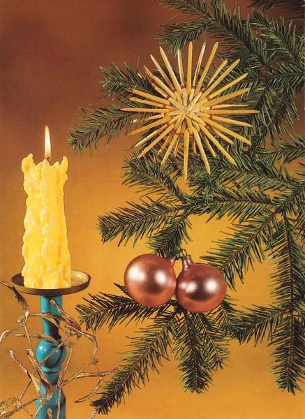 ARCHIV-MATERIAL, Kombikarte für Weihnachts- und Neujahr Grüße, ca. 1985