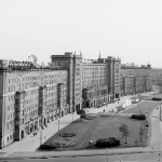 Leipzig, Der Roßplatz im Jahr 1969. Foto: Stadtarchiv Leipzig
