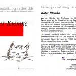 form gestaltung ddr., Ausstellung-Ankündigung, 24.03.2013