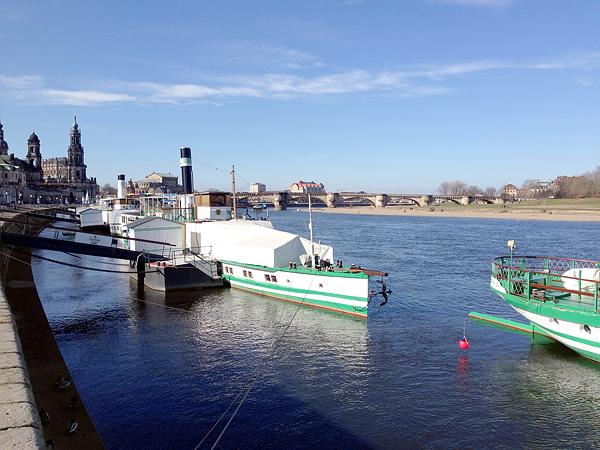 DRESDEN, Canaletto mit Goldstrand, 22.02.2014