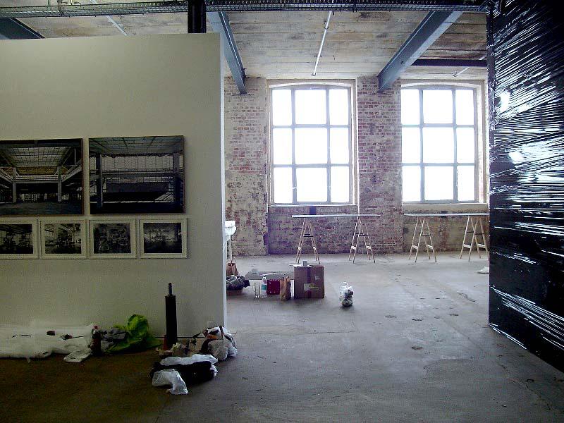 LEIPZIG, SPINNEREI, HALLE 14, RAUM NACH WEST, 12.09.2012