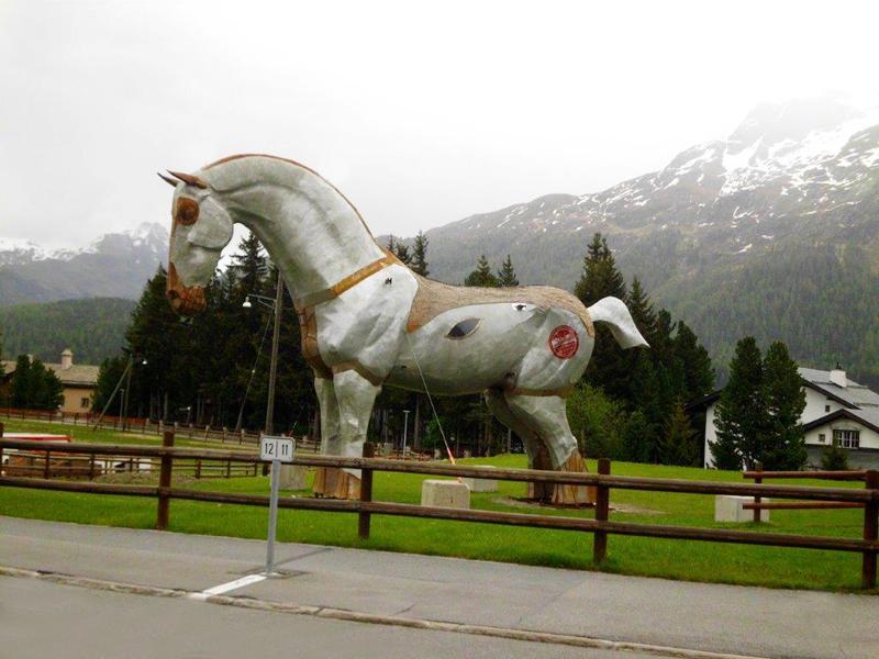 St.Moritz-Dorf, Tsunami - der Olifant hat sich gedreht, Brigitte@15.06.2016