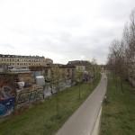 LEIPZIG-PLAGWITZ, GLEISWEG, ANS.n.NORD, 02.04.2012