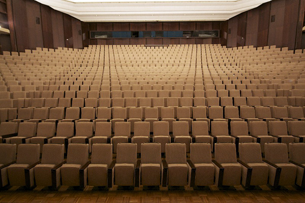 Hoyerswerda, Lausitzhalle, Zuschauer schauen Dich an, 18.08.2011