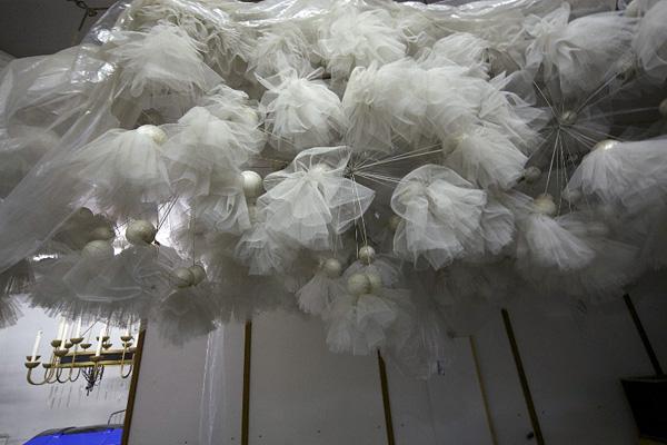 Hoyerswerda, Lausitzhalle, Dekoration, 18.08.2011