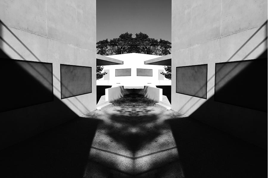 Dessau, Meisterlicht ... die kalte weiße Stille, i-phoneography, 06.05.2016