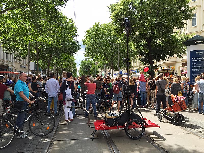 LEIPZIG, bohei & tam tam, Boulevard Heine - Straßenmarkt für Handwerk + Kunst, Karl-Heine-Str., tripod-master-partylouncher, i-phoneography, 18.06.2016