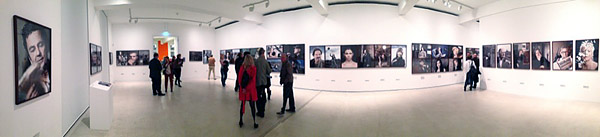 MAGDEBURG, i-phoneography, exhibition-panoview-inside-B, looking north, 08.10.2013
