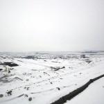 Schaufelradbagger 1554, Panorama, Ans. nach Nord, 27.01.2013