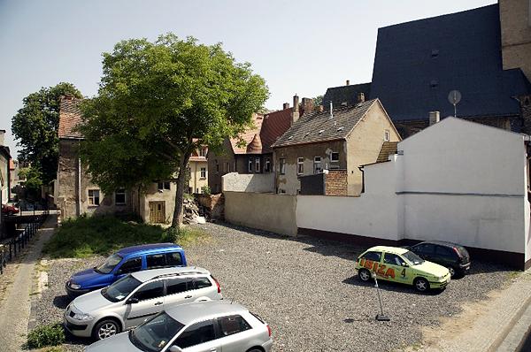 LUTHERSTADT EISLBEN, ROH-ZUSTAND, looking east, 30.05.2008