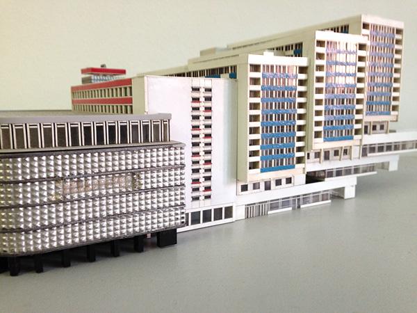 LEIPZIG, BRÜHL-MODELL, MODERNE en Miniature, i-phoneography, 23.09.2014