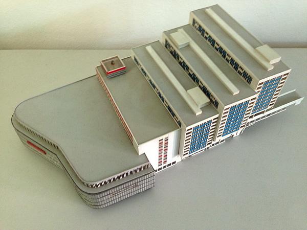 LEIPZIG, BRÜHL-MODELL, MODERNE en Miniature, HubView, i-phoneography, 23.09.2014