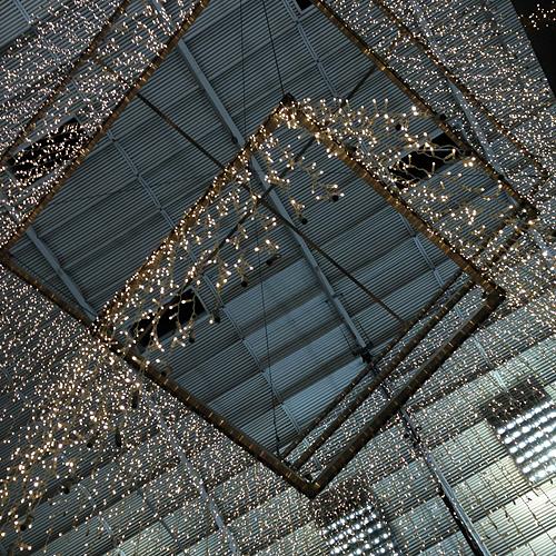 BREMEN, Hauptbahnhof mit LUMINA LEUCHTEN, i-PHONEOGRAPHY, 17.12.2014