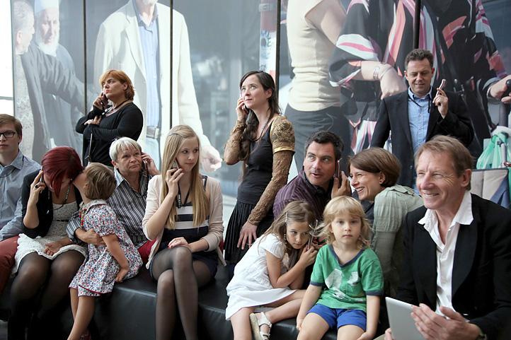 Besucher im Museum, 06.09.2012