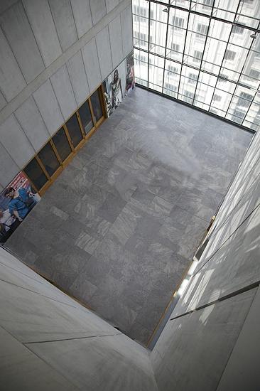 LOCATION für das Bildseminar im MdbK, Bibliothek-Terrasse