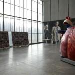 """PORTRAITSERIE """"SIEBENTAGSFIBEL"""" UND HERZ-MODELL, MUSEUEM DER BILDENDEN KÜNSTE, MUSEUMSNACHT, 04.05.2012"""