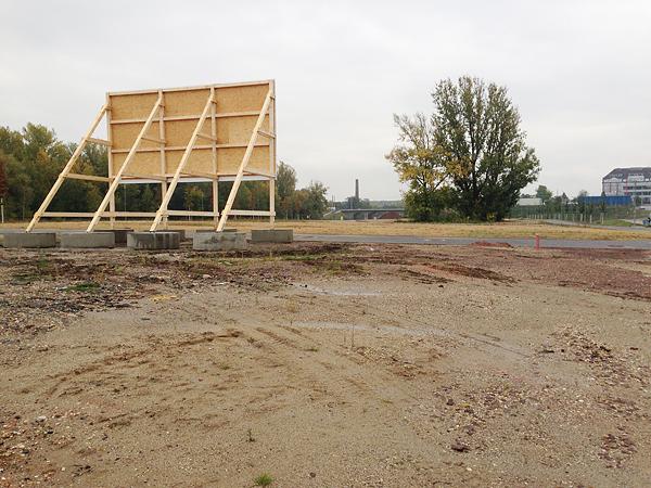 front - runner under construction, start here, 18.10.2015