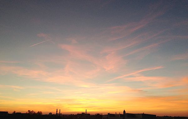 LEIPZIG-PLAGWITZ, light down, last day of october, skyfall, cloud chasers 17:05MEZ@31.10.2015