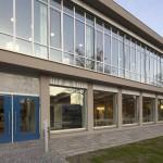 DESSAU, HOCHSCHULE-ANHALT, EINGANG BIBLIOTHEK, Ans.v.WEST, 22.02.2012
