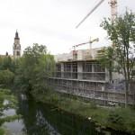 LEIPZIG-PLAGWITZ, AURELIENBOGEN, LUFTBILD, looking south-east, 23.05.2014