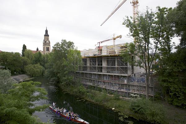 """LEIPZIG, Karl-Heine-Kanal, """"Am Aurelienbogen"""", 23.05.2014"""