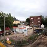 LEIPZIG, LÜTZNER STR, LVB-Stadtbahnlinie 15, looking south-west, 23.05.2014