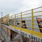 LEIPZIG, LÜTZNER STR, LVB-Stadtbahnlinie 15, looking west, 23.05.2014
