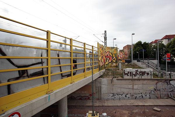 LEIPZIG, LÜTZNER STR, LVB-Stadtbahnlinie 15, looking north-east, 23.05.2014