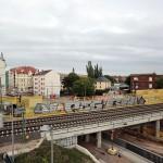 LEIPZIG, LÜTZNER STR, LVB-Stadtbahnlinie 15, looking south, 23.05.2014