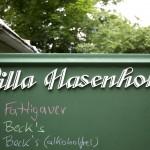 LEIPZIG, VILLA HASENHOLZ, PENSION FÜR KÜNSTLER UND FREUNDE, 16.06.2012