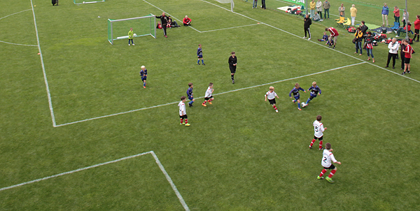 LEIPZIG, Sportschule E.BRAUN, LVV-CUP, BAMBINIS rot-weiß, 21.06.2014