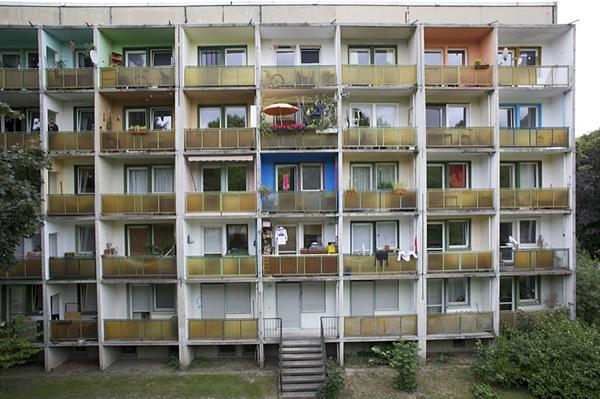 LEIPZIG, Wohnscheibe am Park, Karl-Tauchnitz Str., 21.06.2014