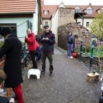 LUTHERSTADT EISLEBEN, BRÜCKE, TEAM, ANSICHT nach NORD, STRICKER.LE, 03.11.2012