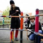 LUTHERSTADT EISLEBEN, BRÜCKE, DETAIL-ANSICHT nach OST, STRICKER.LE, 03.11.2012