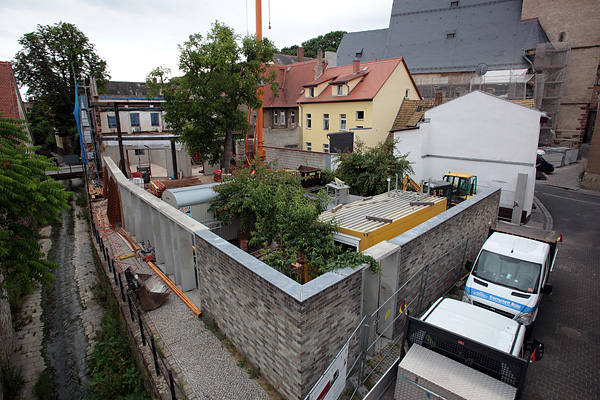 Lutherstadt Eisleben, Lutherarchiv, outside overview, looking south-east, 07.07.2014