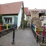 LUTHERSTADT EISLEBEN, BRÜCKE, TOTALE, ANSICHT nach NORD, STRICKER.LE, 03.11.2012