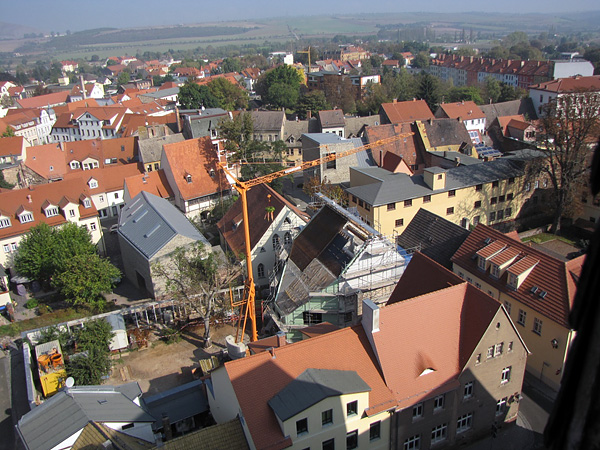 Lutherstadt Eisleben, Lutherarchiv, outside overview, looking, north-east, SIMONE -KANT @ 03.10.2014