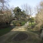 MAGDEBURG, GESCHWISTER-SCHOLL-PARK, BLICK IN DEN PARK, Ans.n.Nord, 22.03.2012