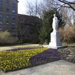 MAGDEBURG, GESCHWISTER-SCHOLL-PARK, LUISENDENKMAL, Ans.n.NordWest 22.03.2012