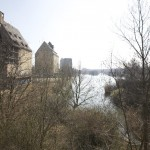LEIPZIG, HAFENBECKEN, ÜBERSCHAU n.SÜDEN, 24.03.2012