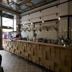 LEIPZIG, FLEISCHEREI, CAFÈ-BAR-BISTRO, DESIGN MICHAEL GRZESIAK, 20.07.2012