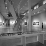 Berlinische Galerie, Innen, Raum + Treppe, 15.12.2012