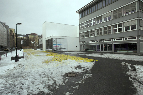 Berlinische Galerie, Außen, Zugang, 15.12.2012