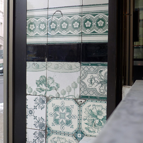 LEIPZIG, Fleischerei, Design im Detail/Schaufenster, 17.01.2013
