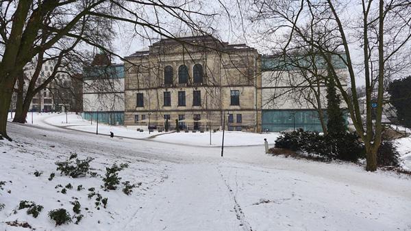 BREMEN, Kunsthalle, Aussen-Neu, 26.01.2013