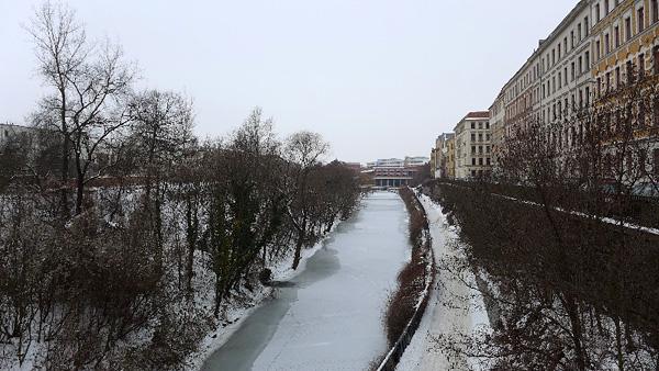 LEIPZIG, Stiller-Kanal ohne Echo am Tag der OBM-WAHL, 27.01.2013