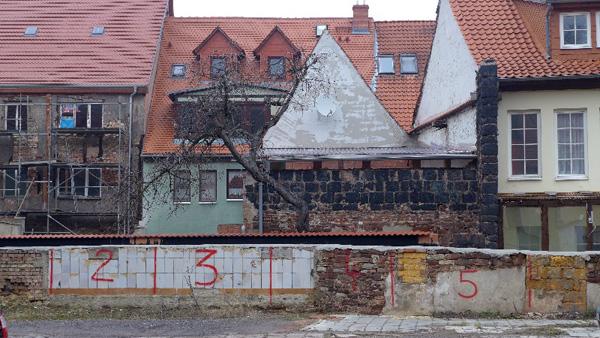 Eisleben, private Parkraumbewirtschaft, 17.02.2013